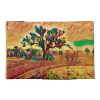 Australian Ochre Landscape Travel Accessories Bag