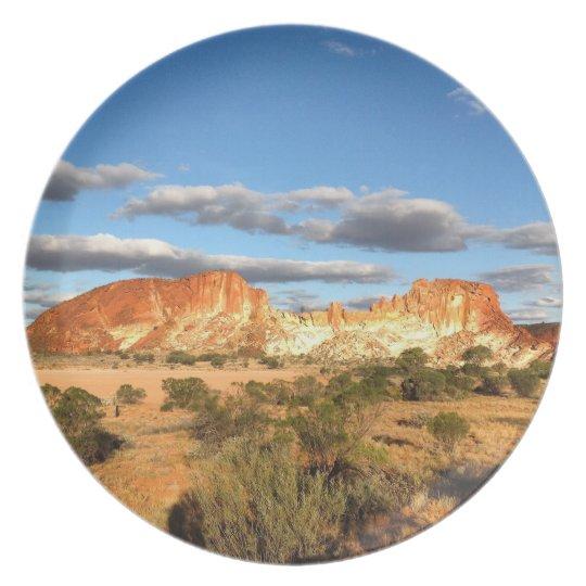 Australian outback photo plate