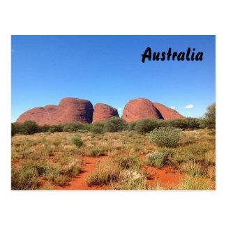 Australian outback postcard