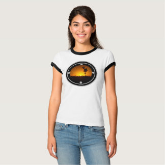 Australian outback sunset shirt