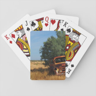 Australian outback truck playing cards