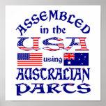 Australian Parts (W) Posters