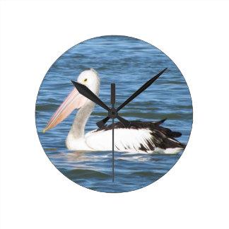 Australian Pelican Wallclock