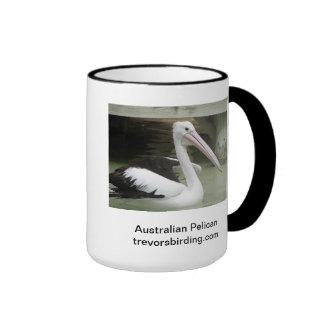 Australian Pelican Coffee Mugs