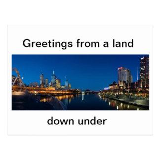 Australian Post Card Melbourne City