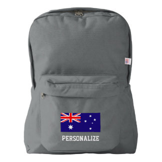 Australian pride flag of Australia custom backpack
