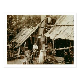 Australian prospector, c.1880s (sepia photo) postcard