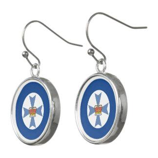 Australian Queensland Flag Earrings