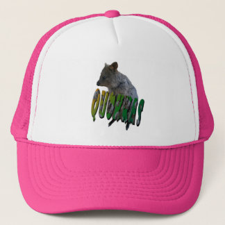 Australian Quokka And Logo, Trucker Hat