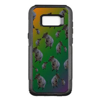 Australian Quokka Encounters Pattern, OtterBox Commuter Samsung Galaxy S8+ Case