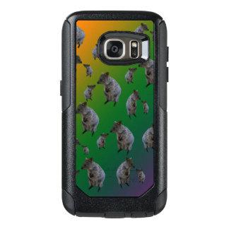 Australian Quokka Encounters Pattern, OtterBox Samsung Galaxy S7 Case