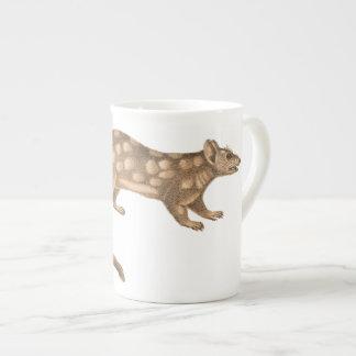 Australian Quoll - Fierce Feisty Little Marsupial Porcelain Mugs