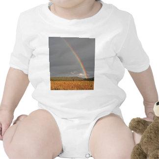 Australian rainbow over the Gold Coast Baby Bodysuits