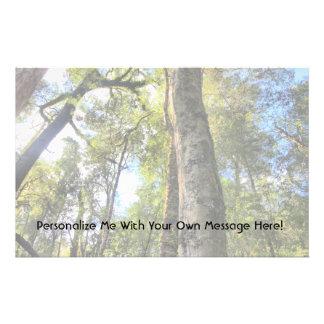Australian Rainforest Eucalyptus Gum Trees Custom Stationery
