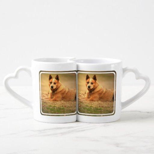 Australian Red Cattle Dog Couples Mug