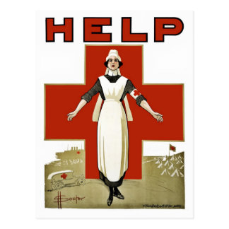 Australian Red Cross vintage World War I Postcard