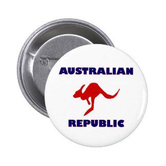 Australian Republic 6 Cm Round Badge