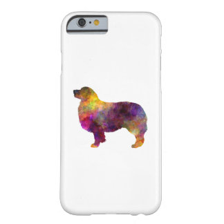 Australian Shepherd 01 in watercolor 2 Barely There iPhone 6 Case