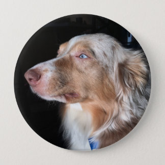 Australian Shepherd 10 Cm Round Badge