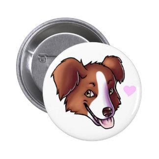Australian Shepherd 6 Cm Round Badge