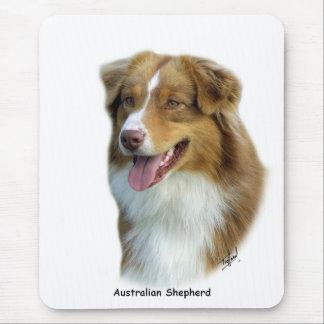Australian Shepherd 9K4D-16 Mouse Pad