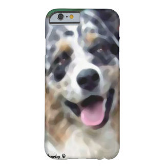 australian shepherd barely there iPhone 6 case