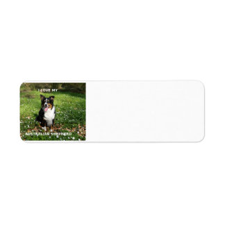 australian-shepherd-black tri love w pic return address label