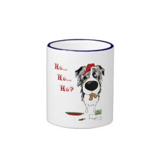 Australian Shepherd Christmas Coffee Mug