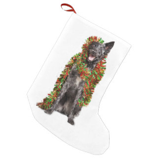 Australian Shepherd Christmas Small Christmas Stocking