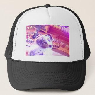 Australian Shepherd Christmas Trucker Hat