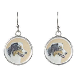 Australian Shepherd Earrings