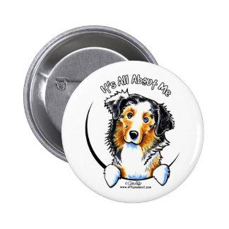Australian Shepherd IAAM 6 Cm Round Badge