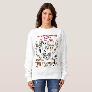 "Australian Shepherd ""I'ma Wiggle-butt Lover"" Sweatshirt"