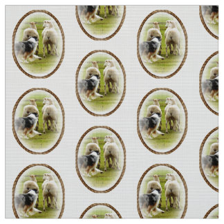 Australian Shepherd Inspired Fabric