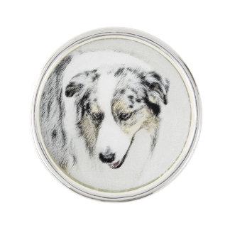 Australian Shepherd Lapel Pin