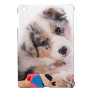 Australian shepherd puppy cover for the iPad mini