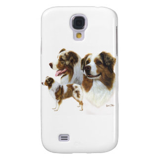 Australian Shepherd Samsung Galaxy S4 Cover
