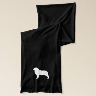 Australian Shepherd Silhouette Scarf