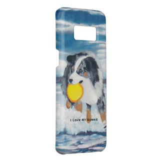"Australian Shepherd ""Yippee Frisbee Dog"" Case-Mate Samsung Galaxy S8 Case"