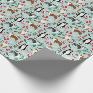 Australian Shepherds Christmas Gift Wrap