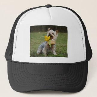 Australian Silky Terrier Dog Trucker Hat