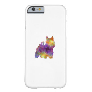 Australian Silky Terrier in watercolor Barely There iPhone 6 Case