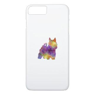 Australian Silky Terrier in watercolor iPhone 8 Plus/7 Plus Case