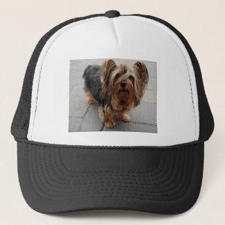 Australian Silky Terrier Puppy Dog Trucker Hat