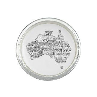 Australian slang map