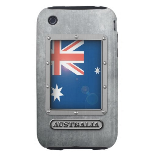 Australian Steel iPhone 3 Tough Case