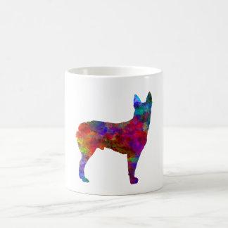 Australian Stumpy Tail Cattle Dog in watercolor.pn Coffee Mug