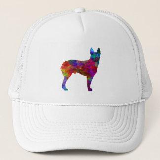 Australian Stumpy Tail Cattle Dog in watercolor.pn Trucker Hat