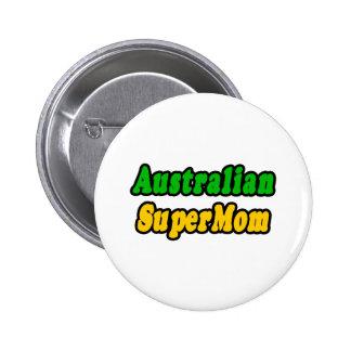 Australian SuperMom Button