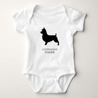 Australian Terrier Baby Bodysuit